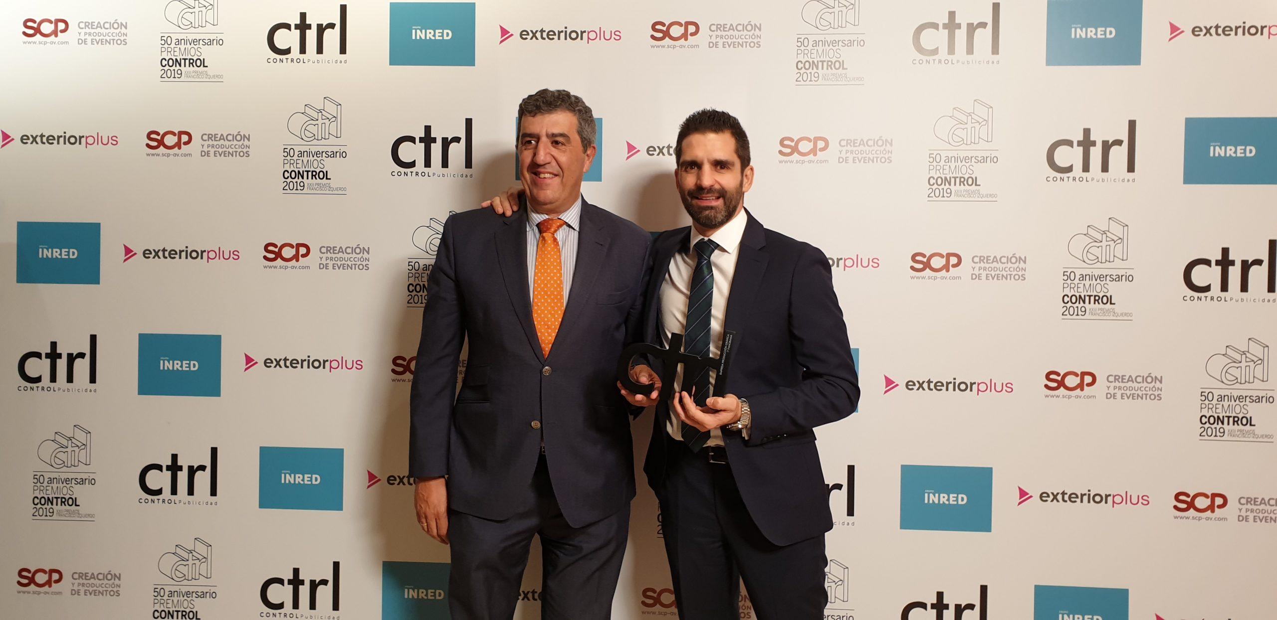 Premio Ctrl Mejor Empresa de Producción Gráfica