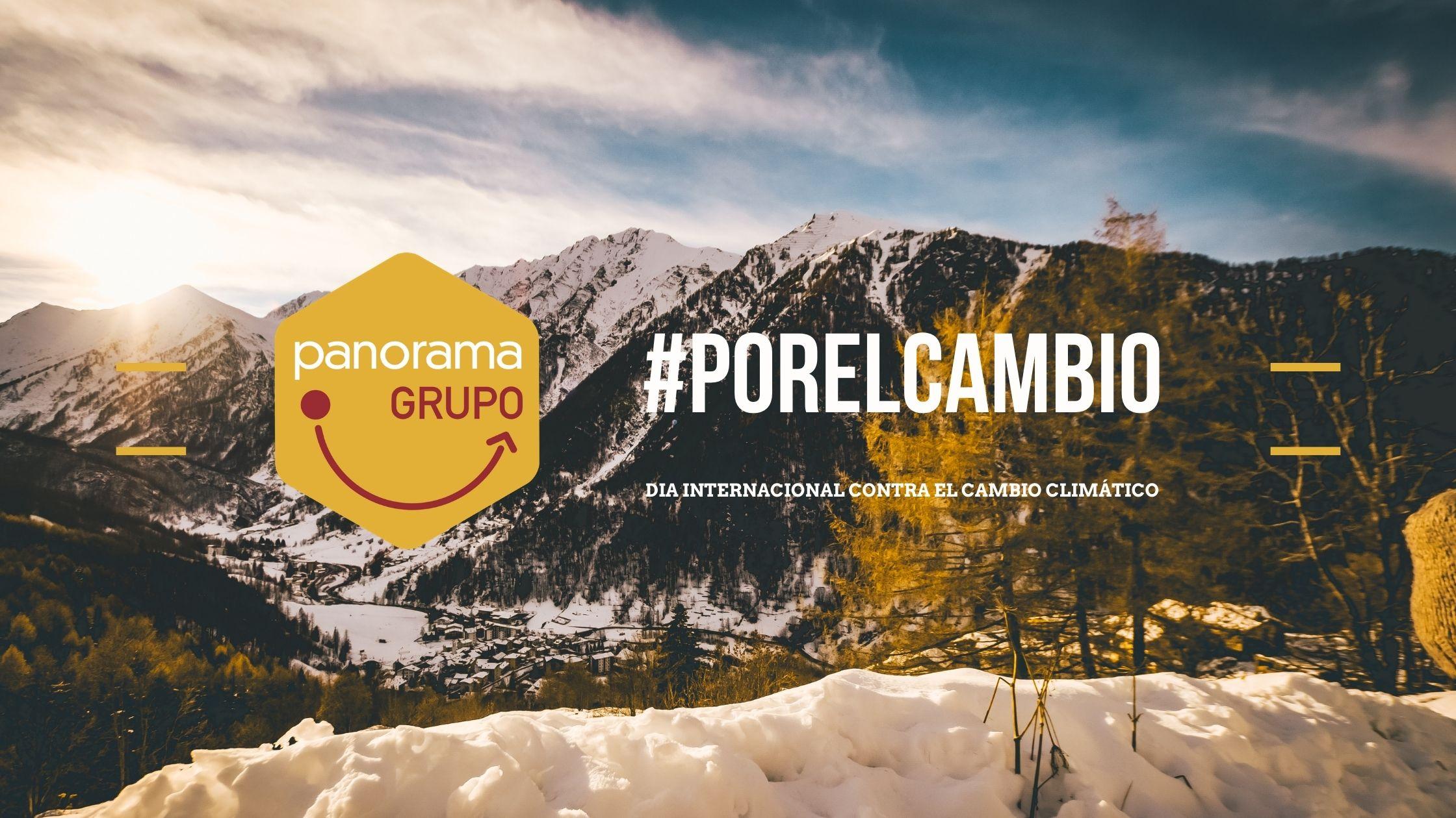 7 medidas de Grupo Panorama contra el Cambio Climático
