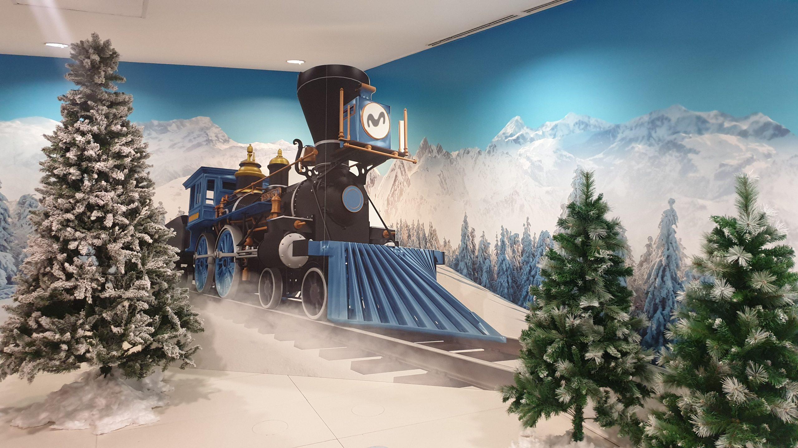 Tiempo record para traer la ilusión de la Navidad a Movistar